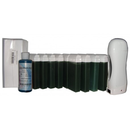 Chlorophylle - SOLOR - Kit épilation 12 x 100ml