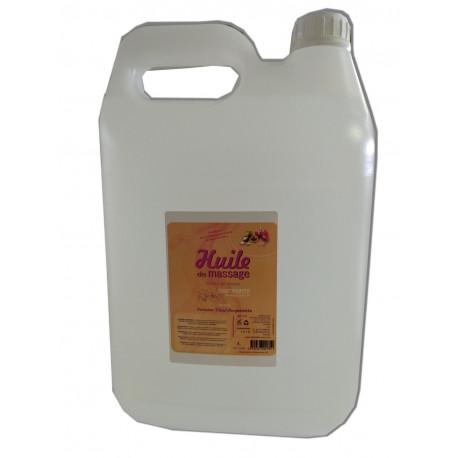 Verveine-Tilleul-Bergamotte - 5 litres - Huile de massage nourrissante