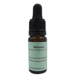 Cannabidiol CBD 10 % pour massage, fiole de 10 ml, gestion douleurs musculaires