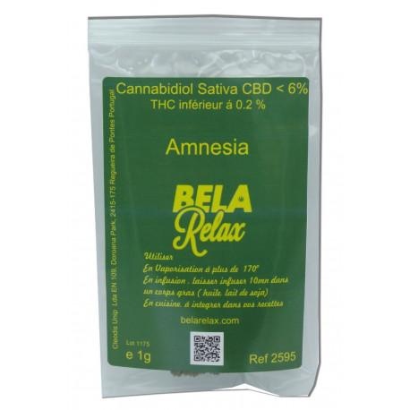 Amnesia la fleur euphorique en sachet d'un gramme pour tester