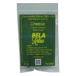 Sachet de Cheese, la fleur CBD parfum fruité