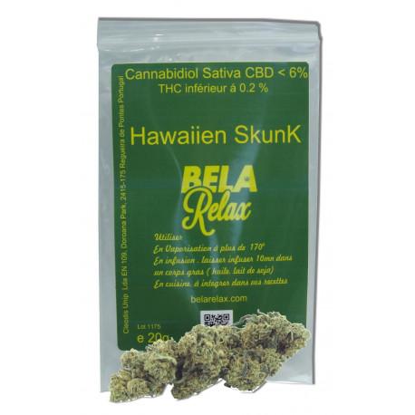 Hawaïen Skunk pour son effet Relaxant et Anti-stress