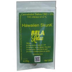 Hawaïen Skunk fleur CBD pour une nuit tranquille