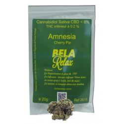 Amnesia Sachet 20g, Fleurs CBD Indoor
