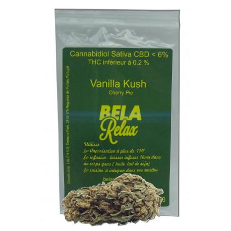 Vanilla Kush,et Cherry Pie des fleurs CBD un super mélange