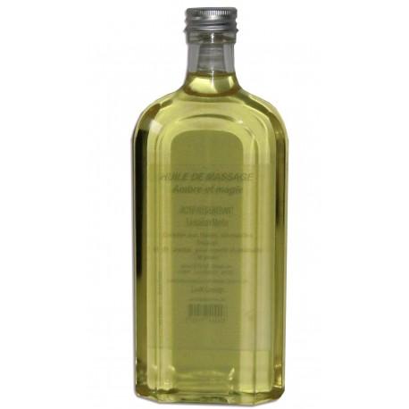 Ambre et magie - 500 ml - huile de massage adoucissante