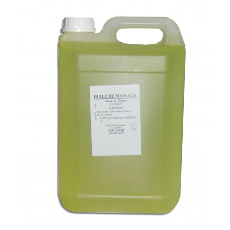 Huile de massage - 5 L - Minceur - Thé vert