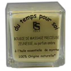 AMBRE - 60 g - Bougie de massage