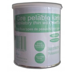 Pot de cire à épiler Pelable KARITE - 800 ml