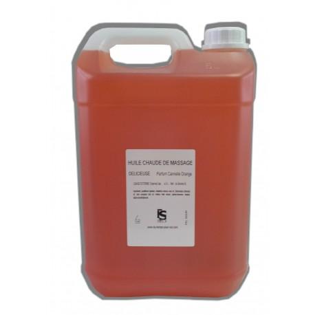 Délicieuse - Cannelle Orange - Chaude - 5 litres - Huile de massage