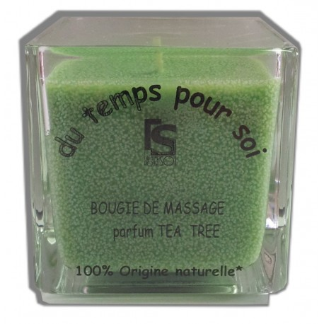Tea tree - 210 g - Restructurante - Bougie de massage