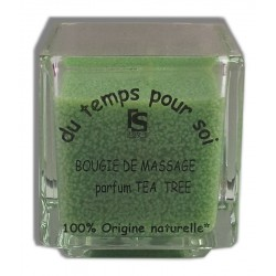 Tea tree - 60 g - Bougie de massage