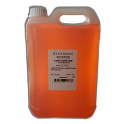 Canelle Orange - Huile de massage adoucissante - 5 litres