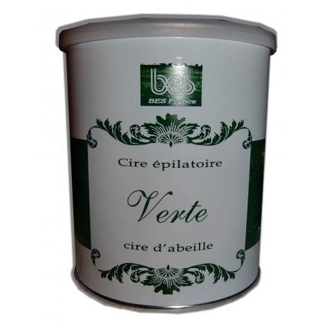 VERTE - Pot de 800 ml de cire à épiler