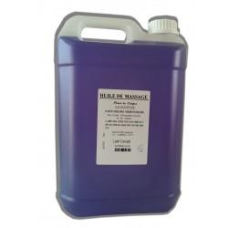 Sous affusion - Huile massage adoucissante - 5 litres